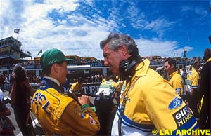 Schumacher and Briatore
