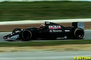 Heinz-Harald Frentzen, Sauber Mercedes-Benz