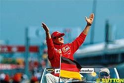 Schumacher Voted Top 2002 Champion