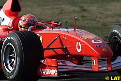 Schumacher Odds-On Favourite for 2002 Title