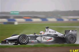 Alex Wurz in action, today
