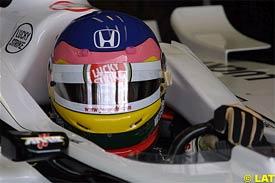 Jacques Villeneuve at Imola