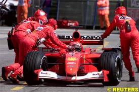 Schumacher retires