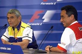Pierre Dupasquier and Hiroshi Yasukawa, today