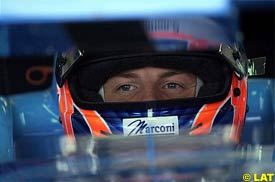 Jenson Button, today