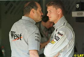 Ron Dennis and David Coulthard