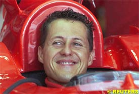 Michel Schumacher, today in Hungary