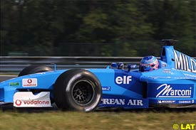 Jenson Button, today