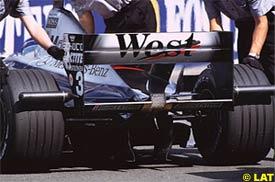 Hakkinen's McLaren, today