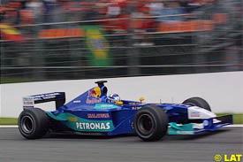 Kimi Raikkonen, today at Spa