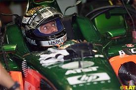 Eddie Irvine, today