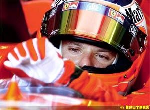 Rubens Barrichello, today, at Barcelona