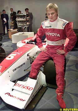Mika Salo in Tokyo, today