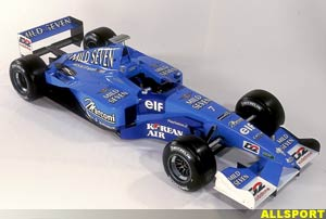 The Benetton-Renault B201, today
