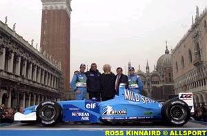 The Benetton team, today