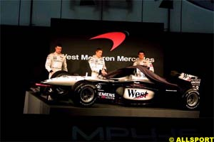 The new MP4-16 is unveiled