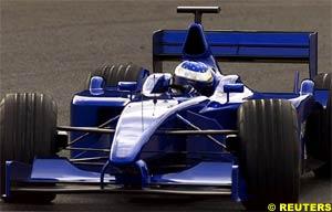 Jean Alesi, today, at Estoril