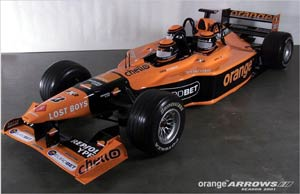 Arrows Launch a Three Seater F1 Car