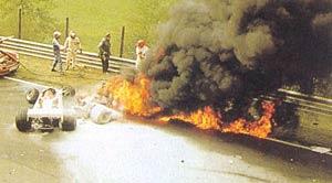 Lauda's accident in 1976