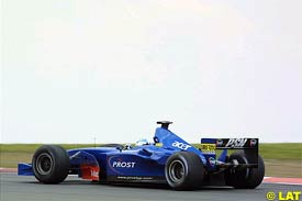 Jean Alesi in action at the Nurburgring