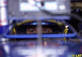 Nick Heidfeld at the Nurburgring