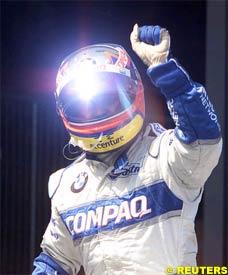 Juan Pablo Montoya, after the race