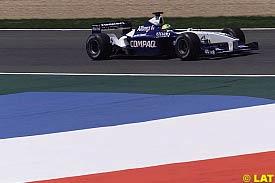 Ralf Schumacher in action today