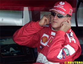 Michael Schumacher, today
