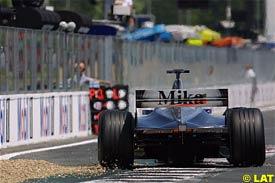 Mika Hakkien during today's qualifying