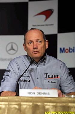Ron Dennis, today