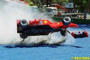 Schumacher's crash