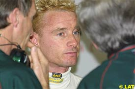 Eddie Irvine, today