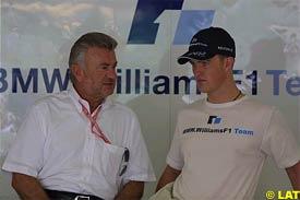 Willi Weber, with Ralf Schumacher, today