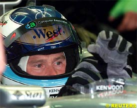 Mika Hakkinen, today