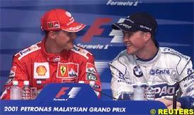 Michael and Ralf Schumacher