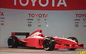 The new Toyota F1