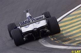 The Michelin-shod Williams, today