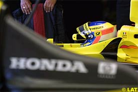 Jarno Trulli at Interlagos, today