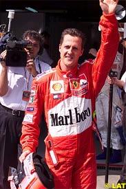 Michael Schumacher, today