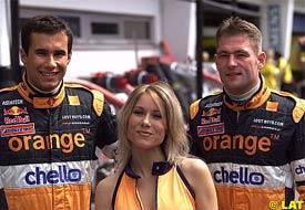 Enrique Bernoldi and Jos Verstappen, today