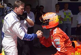 Ralf and Micheal Schumacher, today