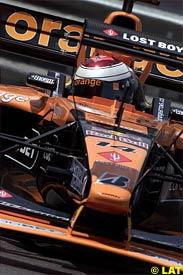 Jos Verstappen in action at Monaco