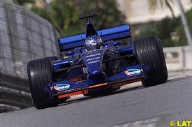 Jean Alesi at Monaco, yesterday